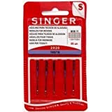 SINGER DOMESTIC SEWING MACHINE NEEDLES STANDARD Size 100/16 HEAVY DUTY by Singer