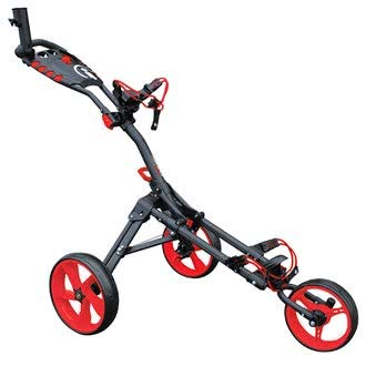 Golf Trolleys ICART un compact 3 roues POUSSEUR Chariot de...