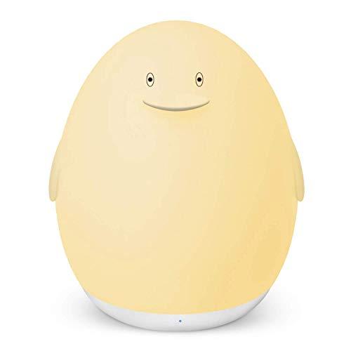 VAVA LED Nachtlicht für Kinder Wiederaufladbare USB Silikon Pinguin Baby Einschlafhilfen Touch Control dimmbar mit Warm-Licht Farbwechsel Modi 1h Timer - Einheit Anhang