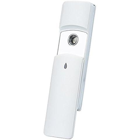 anteuro Nano viso bastimento portatile nebulizzatore sprayer freddo–Spray nebbia Atom islamizzazione viso dispositivo USB ricaricabili viso bellezza caffè per Home viaggio Cura della pelle–Il suo Outdoor acqua Spa