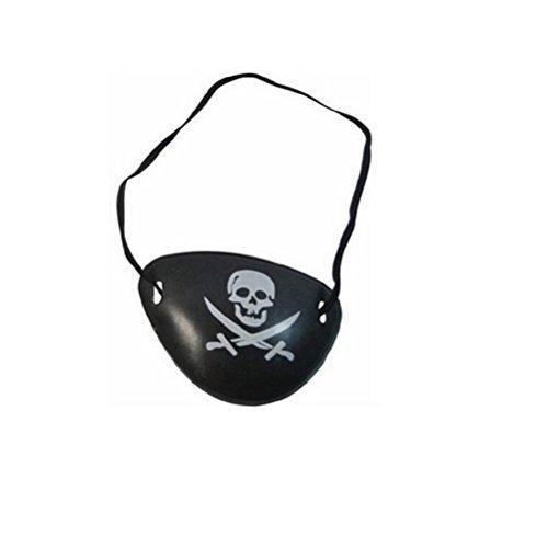 Inception pro infinite accessorio benda per occhio - pirata - adulti - bambini - carnevale - halloween