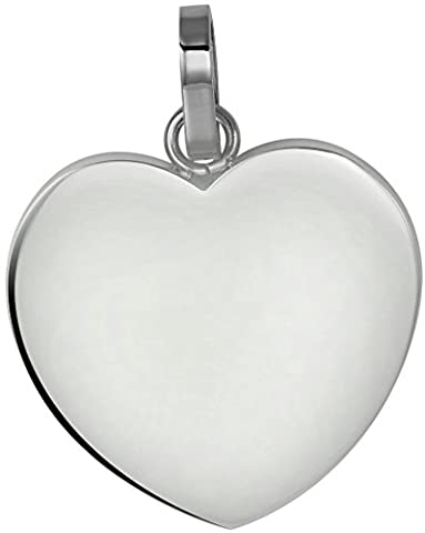 Women Heart Shape Design Love Finished Stainless Steel Pendant Necklace
