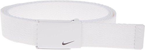 Nike Damen Tech Essential Single Web Belt - Weiß - Einheitsgröße -