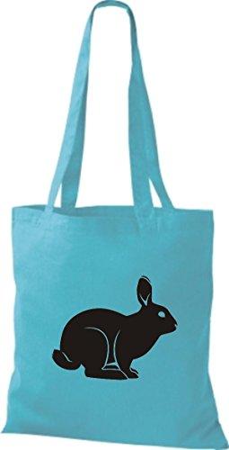 Coniglietto Tote Bag, Taccuini, Bunny Sky