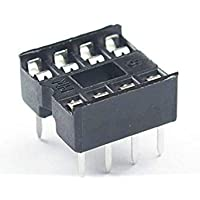 Bloomgreen Co. 50Pcs 8 Pin DIP8 Circuito Integrado Conectores IC Adaptador de Soldadura Tipo HICA