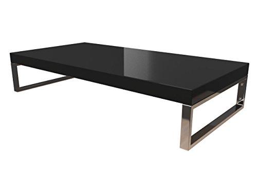 KeraBad Waschtischplatte Waschtischkonsole für Aufsatzwaschbecken und Waschschalen Holzplatte Badmöbel Tischplatte 50x45x5cm Schwarz Hochglanz kb-wt50120schwarzg-9