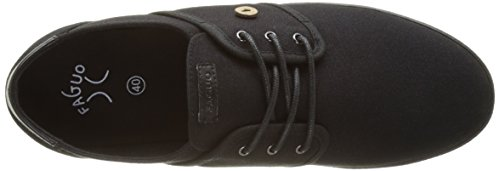 Faguo S1733, Baskets Basses Mixte Adulte Noir (Black)