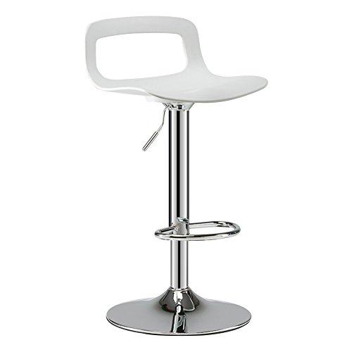 MENA Uk Swivel Barhocker Moderne ABS Backless höhenverstellbar Tisch, Küche und Home Stühle (Farbe : 2, größe : 41cm) - Nh Swivel
