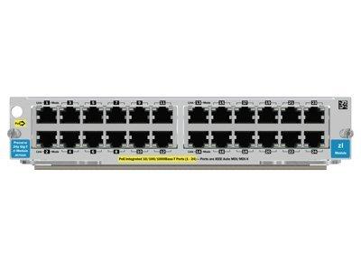 HP Switch J8702A 24-port 10/100/1000 PoE zl Module gebraucht kaufen  Wird an jeden Ort in Deutschland