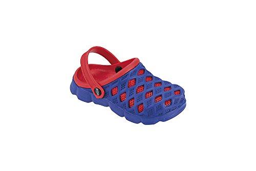 "Fashy Kleinkinder Aqua-Schuh Modell ""Sephia"" 7446 00 3035 Blau-Rot"