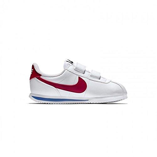 Nike Cortez Basic SL (PSV), Chaussures de Running Compétition Garçon, Blanc