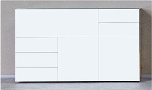 KITOON Sideboard (B 171 H 95 T 48 cm), Gleiter, Eiche geölt (Echtholzfurnier)