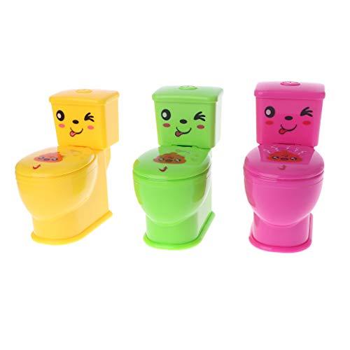 Brilcon 3-teiliges Mini-Miniatur-Spielzeug für Kinder und Erwachsene, lustiges Halloween, lustiges Spielzeug für April-Figuren, Spielzeug, Spielzeug für Kinder, Erwachsene, lustige ()