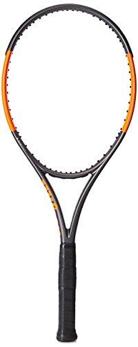 WILSON Raquette de Tennis Burn 100LS Unstrung, Noir, 36