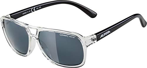 Alpina Kinder Sonnenbrille YALLA clear-black, One Size