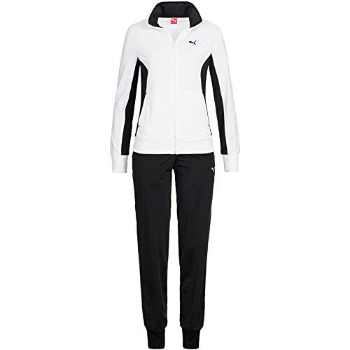 Puma Trainingsanzug, damen, weiß / schwarz, XS