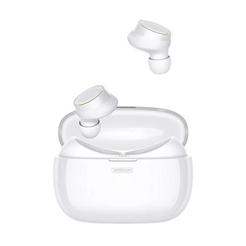 Funk-Kopfhörer,Bluetooth 4.2 Headset Mini TWS Twins Drahtlose In-Ear-Stereo-Ohrhörer (Weiß)