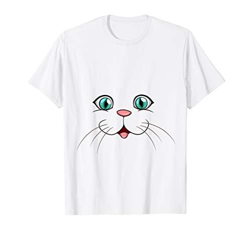 Niedliche Kitty Kostüm Katze - Niedliche Katze Kitty Kostüm Halloween Weihnachten Geschenk T-Shirt