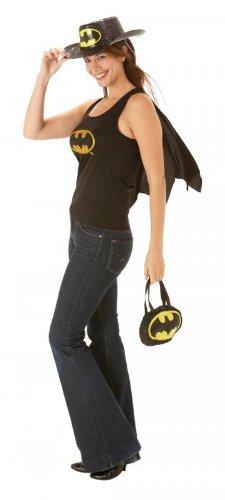 Rubies Costume Carnevale Halloween Top e Mantellina Batgirl di Batman film – sexy donna Small