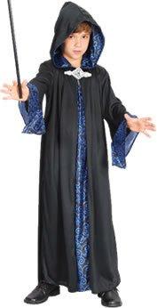 Theme Fancy Dress Disfraz infantil de Brujo. 3-5 años