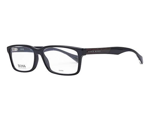 BOSS Hugo Herren 0914/N 807 55 Sonnenbrille, Schwarz (Black),