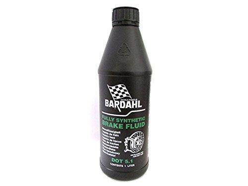 BARDAHL Brake Fluid Racing DOT 5.1 AB DOT 4 3 Fluido Sintetico Per Circuiti Idraulici di Freni a Disco e a Tamburo 1