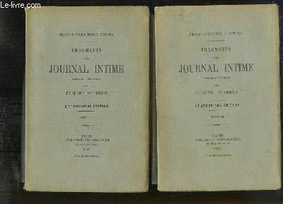 Fragments d'un Journal intime. Précédés d'une étude par Edmond Scherer. Quatorzième édition tome 2