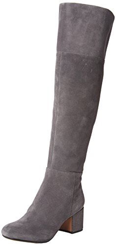 Clarks Barley Ray, Bottes Hautes Femme Gris (Grey)