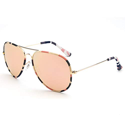 79a06a5548 Gafas de sol Aviador Vogue UV Running New Trend Big Box Frog Mirror -  Personalidad Colorida