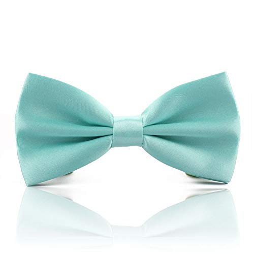 ZXF Süße Tiffany Blue Bow Herren Fliege frisch oder personalisierte Hochzeit kreative Accessoires Casual Fashion Geschenk Bow Ties