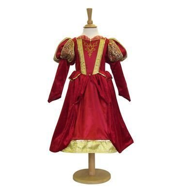 Girls Kids Childrens Historical Victorian/Medieval Queen/Princess Fancy Dress Costume 3-5 Years by ()