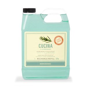 Cucina Hand Soap (Cucina Hand Soap Refill Rosemary and Cardamom 33.8 Fl. Oz. by Fruits & Passion)