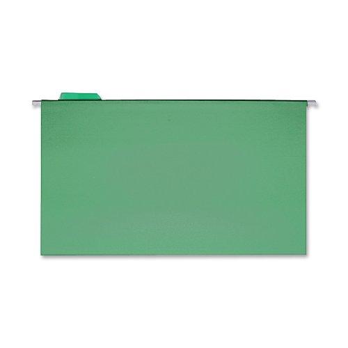Sparco Dossier suspendu, 1, 5 onglets, juridiques, Par boîte, 25 SPRSP5315BGR (Vert)