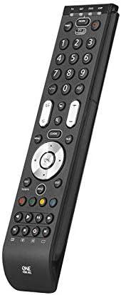 Essence 4 Universalfernbedienung von One For All - Steuerung von 4 Endgeräten - TV Set Top Box DVD Blu-ray Pla