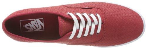 Furgonetas - Scarpe Sportive - Monopatín U Auténtico Lo Pro, Unisex Adulto Rosso (embossedsnake)