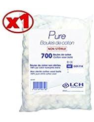 Boules De Coton 100% Coton Hydrophile Le Sachet De 700 Boules - Cot-718 - By Antigua Health Care