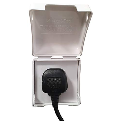 BabySecurity Single Electric Plug Socket Cover Single Socket