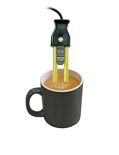 Familykart India New Electric Mini Small Coffee Tea Soup Water Milk Heater Boiler Immersion Rod (Multicolour, 69 oz)