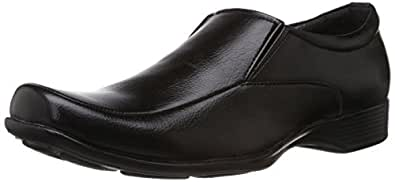 Bata Men's Quin Two Black Formal Shoes - 10 UK/India (44 EU) (8516652)