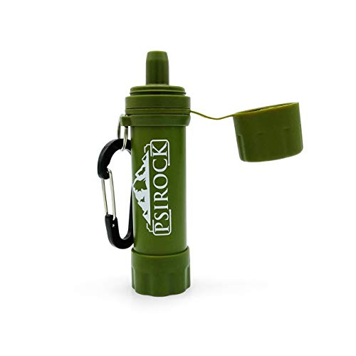 Filtro potabilizador de agua portátil acampada | No necesita pastillas potabilizadoras de...