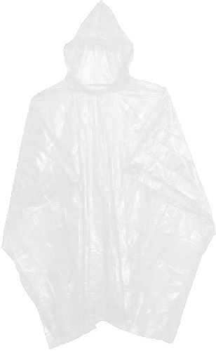 10-WHITE-WATERPROOF-DISPOSABLE-PONCHOS-MACS-FOR-OUTDOOR-EVENTS