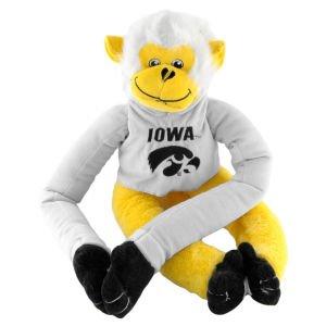 Forever Collectibles NCAA Iowa Hawkeyes 201027Team Monkey, One Size, Schwarz (Hawkeyes Baseball Iowa)