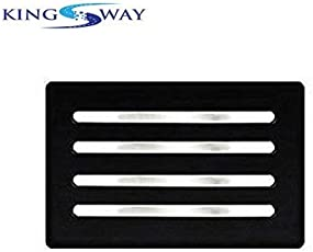 Kingsway Car Bumper Guard - Chrome for Toyota Innova Crysta (Set of 4, Stainless Steel)