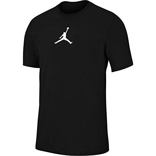 Nike M J Jumpman Dfct SS Crew Short Sleeve T-Shirt, Herren XXL Schwarz/Weiß