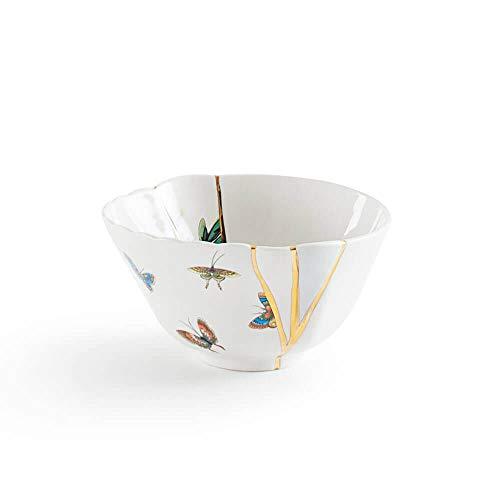 SELETTI Kintsugi Bol en Porcelaine et Or 24 carats Mod. 2
