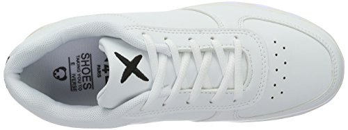 wize & ope Unisex-Erwachsene LED-Low Top Weiß (white 01)