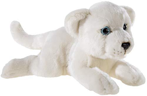 Heunec 237674 MISANIMO Weisser Löwe liegend 25cm, weiß