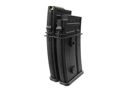 Battleaxe Airsoft / Softair G36 (S)AEG Elektro Dual Highcap Magazin (1000 BBs) -