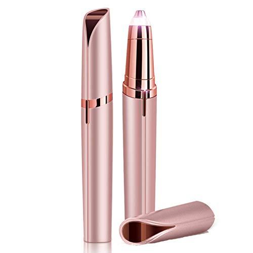 f96688d364ab QMKJ Rasoir électrique Sourcils Rasoir Visage Facial lèvre aisselle  épilateur épilateur Cheveux Charge USB sans Douleur