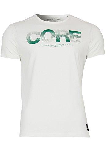 Jack & Jones T-Shirt Jjcoshine Tee Lily White